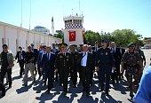 Turkish Interior Minister Efkan Ala Turkish Director General of Public Security Celalettin Lekesiz Chief of the General Staff of the Turkish Armed...