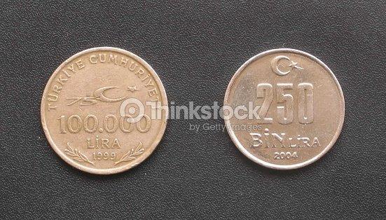 Turkish Kurus Coin Worth 100 000 Lira