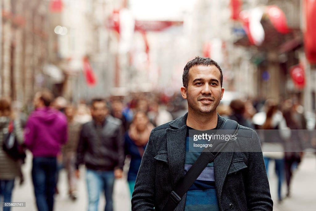 Turkish man in Taksim