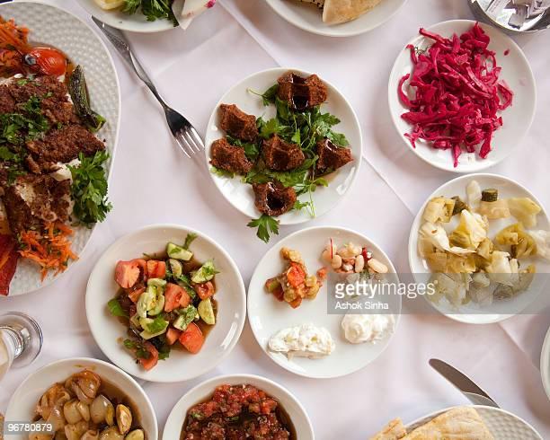 Turkish mezze