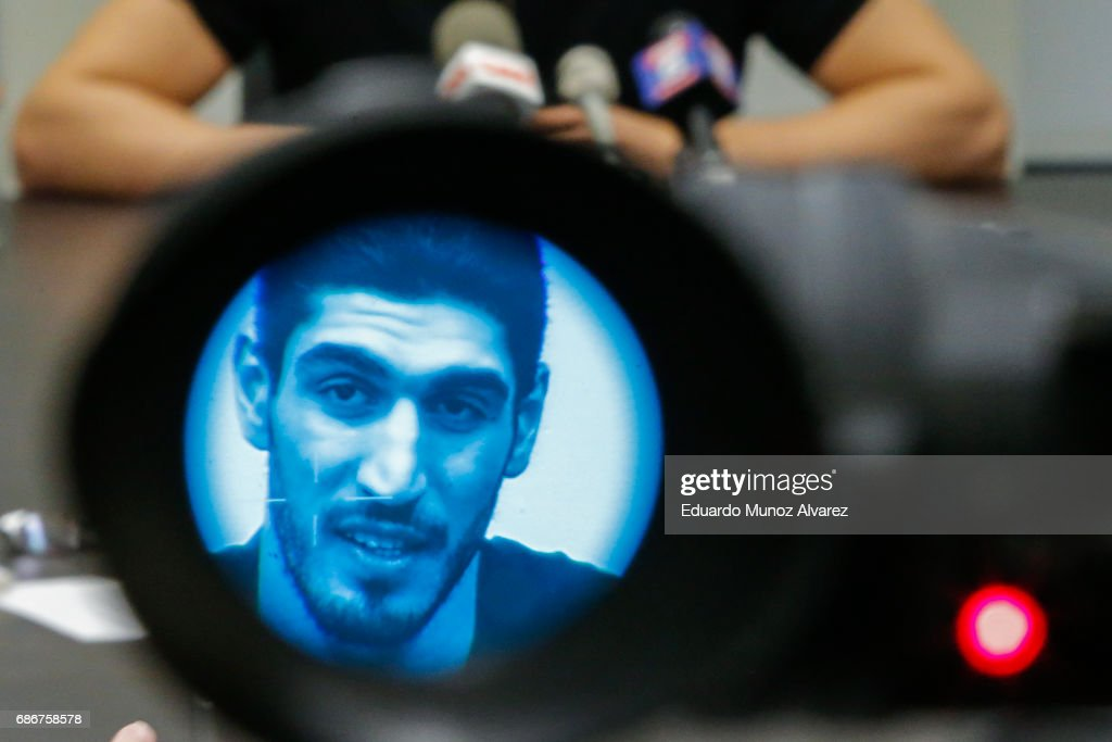 Turkish NBA Player Enes Kanter Gives News Conference About His Detention At Romanian Airport