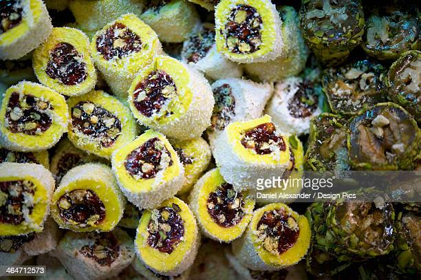Turkish Pastries For Sale In Grand Bazaar