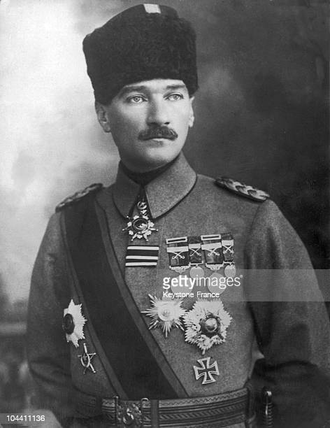 Turkish President Mustafa KEMAL known as Kemal Atatuk between 1925 and 1935 After the Republic's proclamation in 1922 Mustafa KEMAL undertakes a...