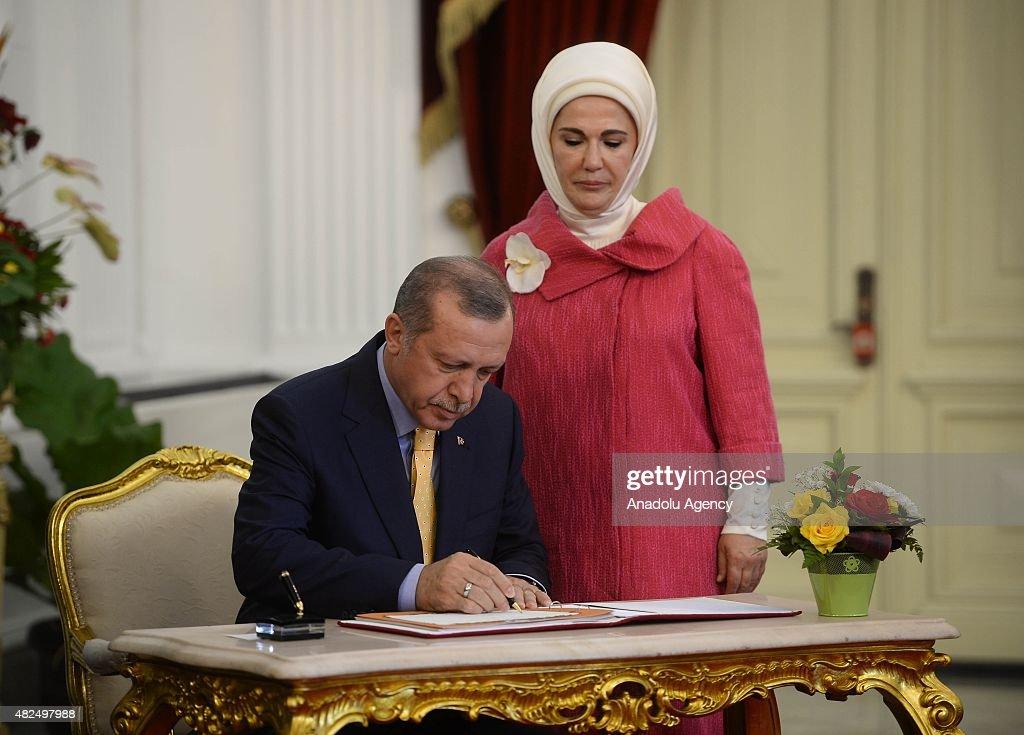 Turkish President Erdogan Visits Indonesia