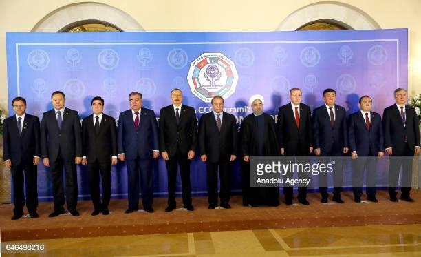 Turkish President Recep Tayyip Erdogan President of Iran Hassan Rouhani Prime Minister of Pakistan Nawaz Sharif Azerbaijani President Ilham Aliyev...