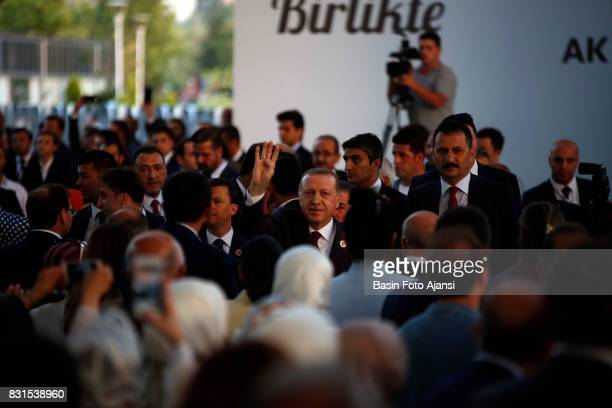 Turkish President Tayyip Erdogan in ceremony to mark the 16th anniversary of AK Party's foundation in Ankara