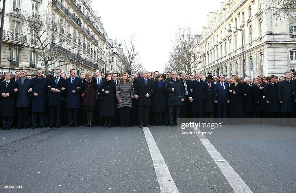 unity march in paris getty images. Black Bedroom Furniture Sets. Home Design Ideas