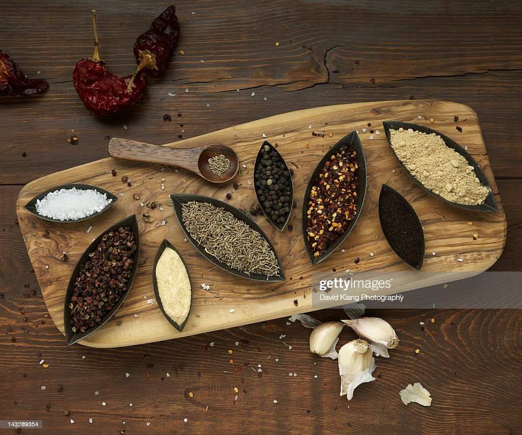 Turkish Spices : Stock Photo