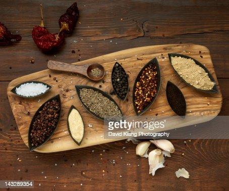 Turkish Spices : Stock Photo