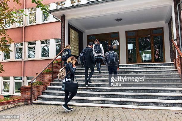 Étudiants en école de Turquie, Istanbul
