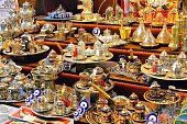 Turkish tea servers and the evil-eye talisman