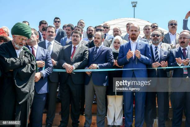 Turkish Youth and Sports Minister Akif Cagatay Kilic Governor of Istanbul Vasip Sahin and President of the World Ethnosport Confederation Bilal...
