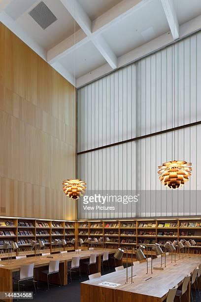 Turku City Library Linnankatu Turku Greater Turku Finland Architect Jkmm Architects Turku Library Jkmm Architects Turku Finland First Floor Reading...