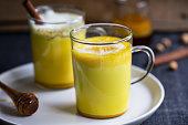 Turmeric with Honey and Cinnamon Latte