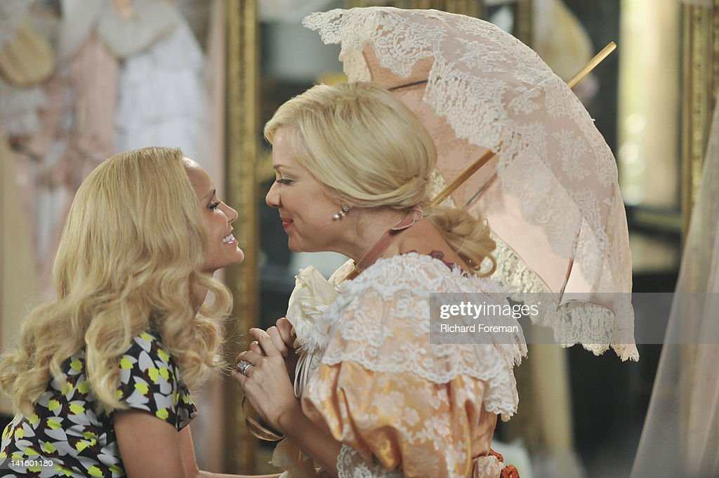 GCB - 'Turn the Other Cheek' - When Luke convinces Carlene to take the Matron of Honor duties away from Sharon and give the honor to Amanda for her 'Gone with the Wind'-themed renewal of marriage vows, Sharon is out for blood. Carlene tries to turn the other cheek and accept Amanda, while Amanda is overwhelmed with her new duties. Meanwhile, Heather seeks forgiveness from the GCBs, and Blake surprises Cricket with a special request, on 'GCB,' SUNDAY, APRIL 8 (10:01-11:00 p.m., ET) on the ABC Television Network. ASPEN
