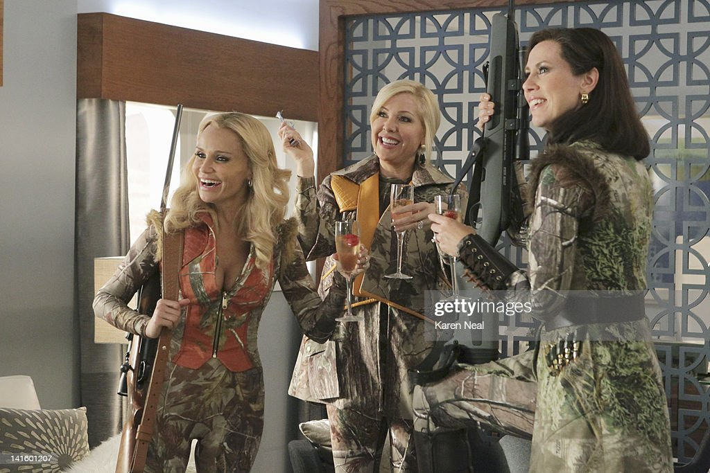GCB - 'Turn the Other Cheek' - When Luke convinces Carlene to take the Matron of Honor duties away from Sharon and give the honor to Amanda for her 'Gone with the Wind'-themed renewal of marriage vows, Sharon is out for blood. Carlene tries to turn the other cheek and accept Amanda, while Amanda is overwhelmed with her new duties. Meanwhile, Heather seeks forgiveness from the GCBs, and Blake surprises Cricket with a special request, on 'GCB,' SUNDAY, APRIL 8 (10:01-11:00 p.m., ET) on the ABC Television Network. SHOR