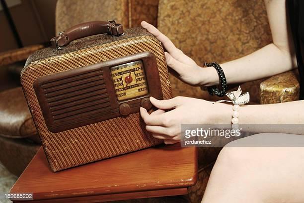 Drehen Sie das Radio