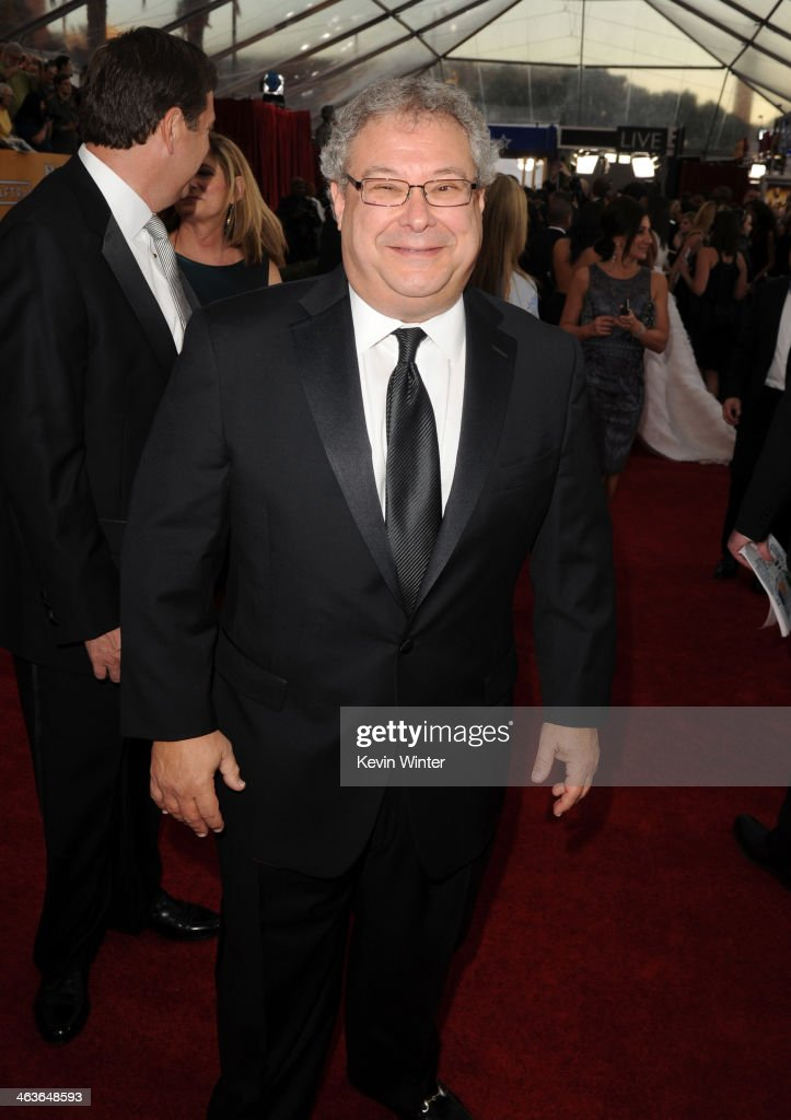 Turner Entertainment Networks President Steve Koonin attends 20th Annual Screen Actors Guild Awards at The Shrine Auditorium on January 18, 2014 in Los Angeles, California.