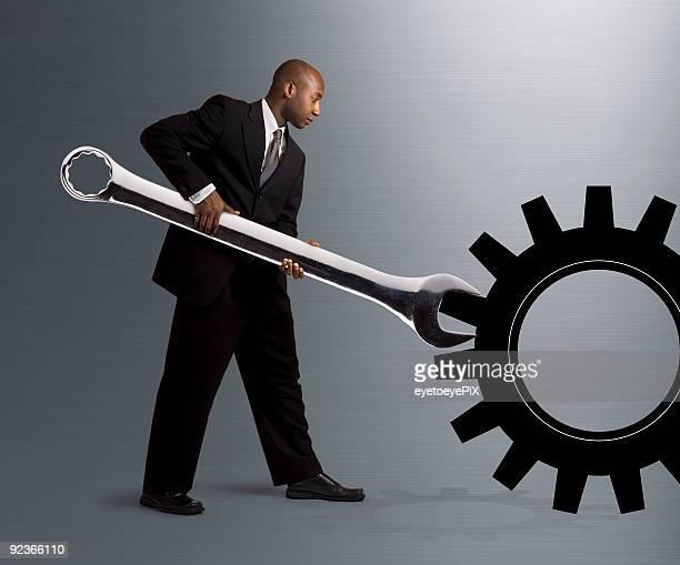 Turning a Gear