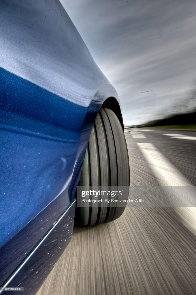 Turning BMW