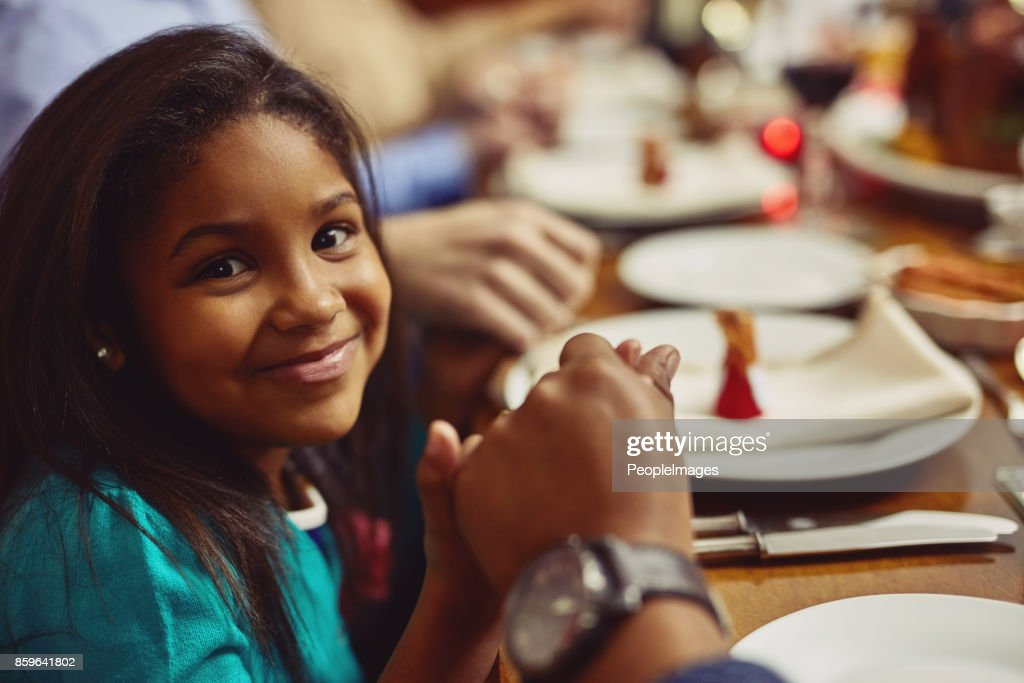 Turning prayer into a meaningful practice for her : Stock Photo