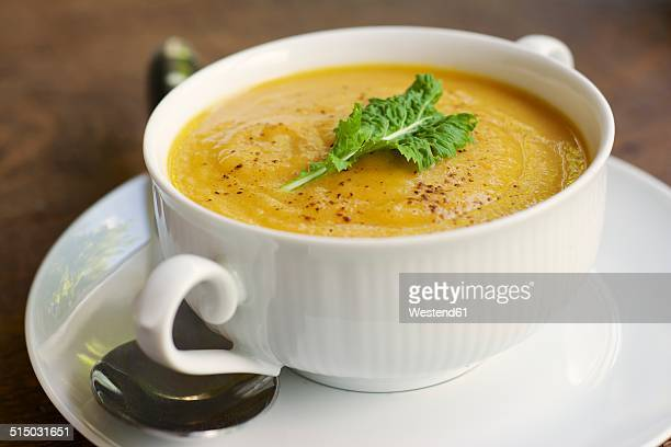 Turnip and carrot soup