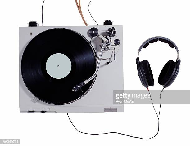 Turntable and Headphones