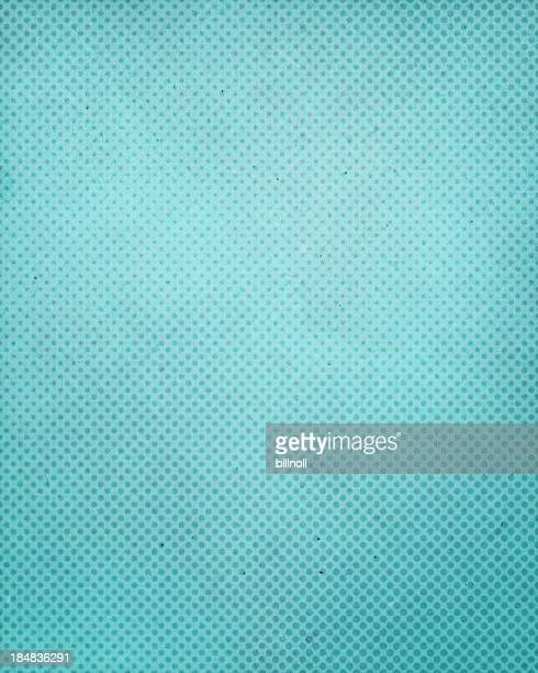 turquoise antique paper with halftone