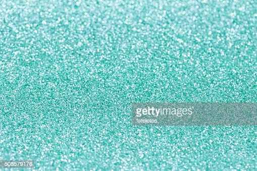 Turquoise background with sparkles. : Stockfoto