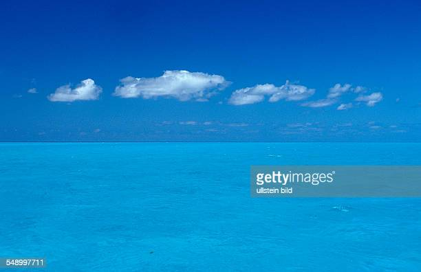 Turquoise blue sea Bahamas Atlantic Ocean