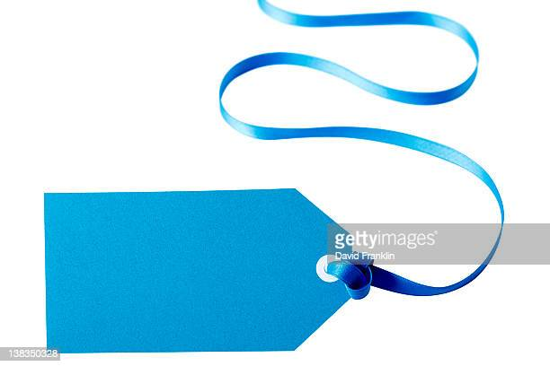 Turquoise gift tag
