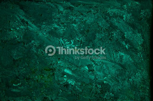 Turquoise Green Rusty Old Metal Pattern Textured Color Paint Background Stock Photo