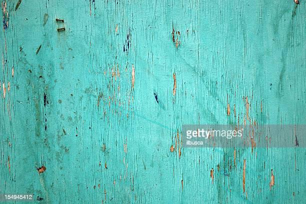 Türkis lackiert Holz panel-STRUKTUR