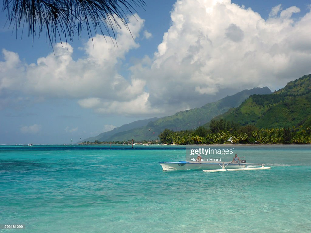 Turquoise waters of Moorea