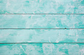 Turquoise wooden background with high resolution. Top view Copy space