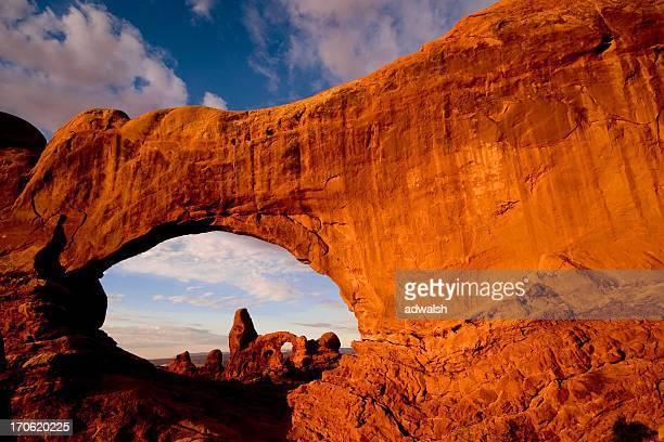 Turret Arch durch die South Window