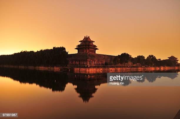 Turret,Forbidden city, Beijing, China