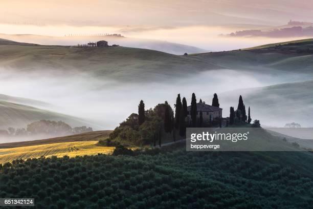 Tuscan farmhouse