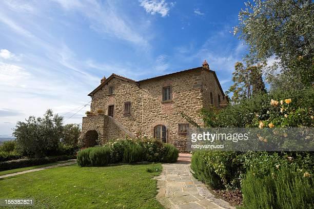 Tuscany, à côté du Florence: Maison de ferme typique et son jardin