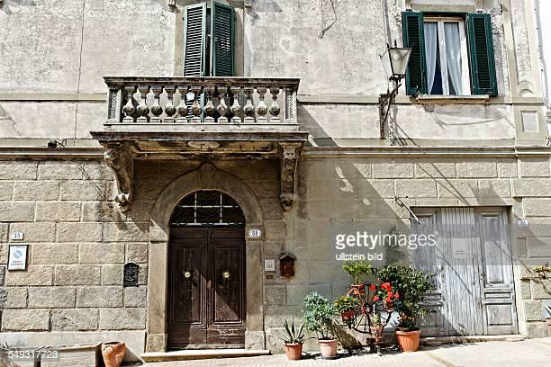 Tuskanien architecture Montescudaio Tuscany Italy