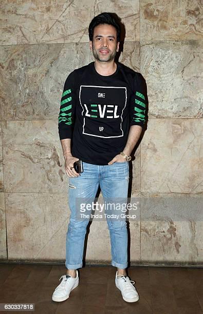 Tusshar Kapoor during the special screening of film Dangal in Mumbai