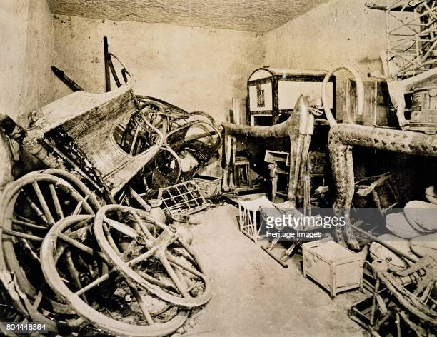 Tutankhamun's tomb Valley of the Kings Egypt November 1922 View of the antechamber of the tomb looking south The discovery of Tutankhamun's tomb in...