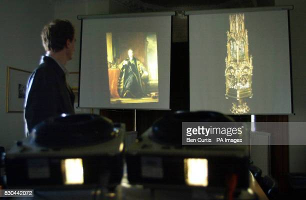Tutorial room 11 in the School of Art History at St Andrews University where students such as Prince William will receive tutorials when he comes to...