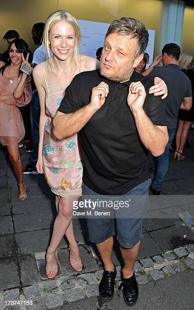 Tuuli Shipster and Rankin attend the French Connection x Rankin 'The Full Service' #SketchToStore campaign launch at Rankin Studios on July 17 2013...