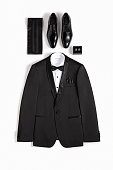 Tuxedo isolated on white background (with clipping path)