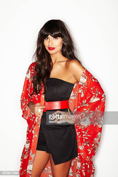 Tv and radio presenter model and columnist Jameela Jamil is photographed for Cosmopolitan magazine on November 27 2014 in London England