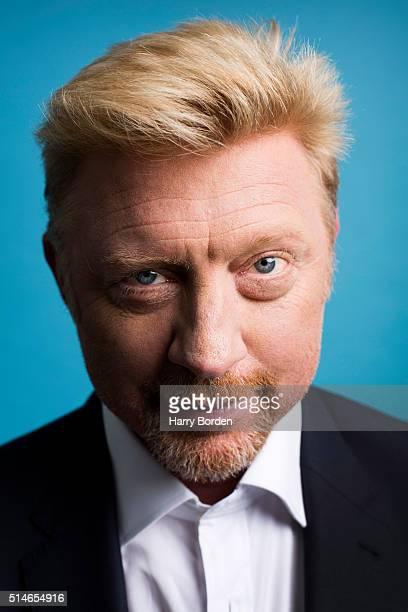 Tv commentator on tennis and former champion player Boris Becker is photographed for the Sunday Times magazine on May 5 2015 in London England