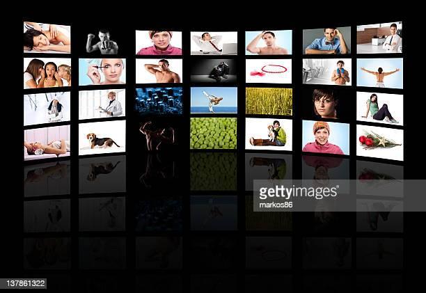 Tv media panel