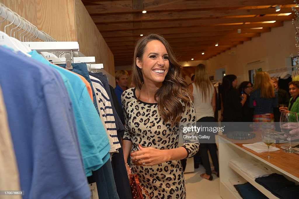 Tv perosnality <a gi-track='captionPersonalityLinkClicked' href=/galleries/search?phrase=Louise+Roe&family=editorial&specificpeople=4300958 ng-click='$event.stopPropagation()'>Louise Roe</a> attends the opening of the Velvet by Graham & Spencer store on June 6, 2013 in Brentwood, California.