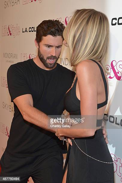 Tv Personalities Brody Jenner and Kaitlynn Carter attend Life Style Weekly's 10 Year Anniversary party at SkyBar at the Mondrian Los Angeles on...